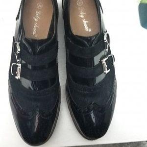 NWT Oxford Shoes Black 8.5